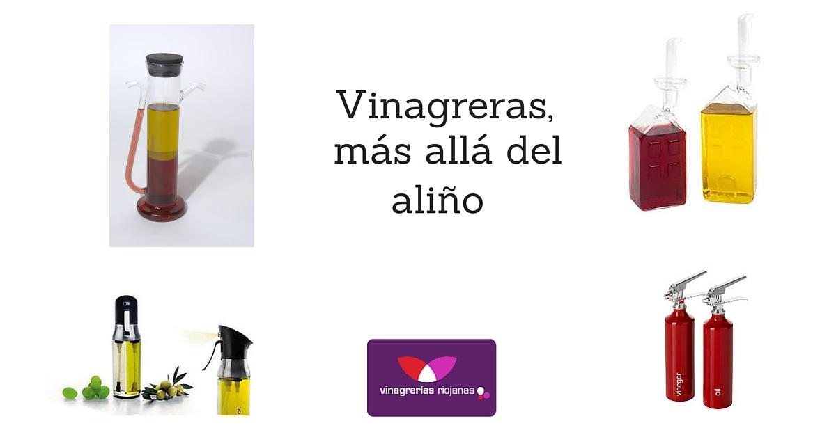 Vinagreras originales, más allá del aliño