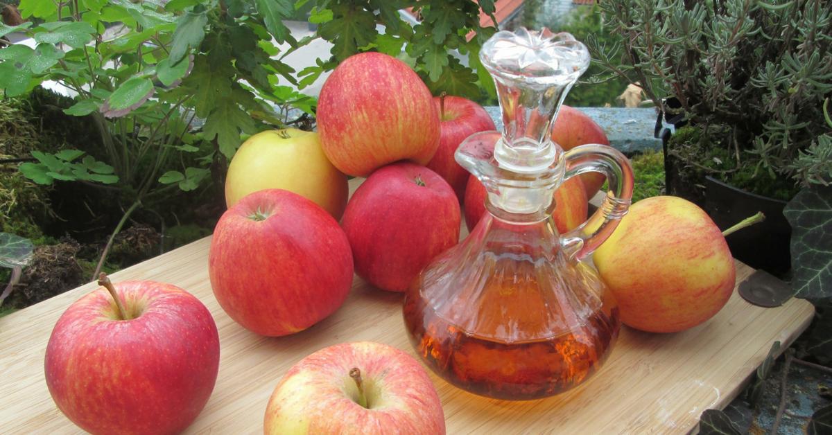 limpiar con vinagre de manzana