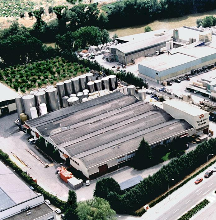 Vista área Vinagrerías Riojanas