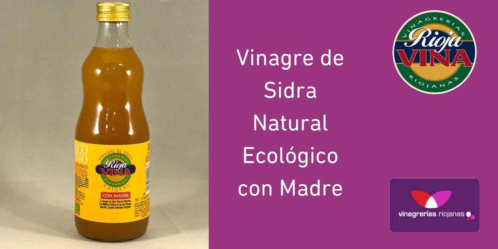 Vinagre Sidra Ecologico con madre