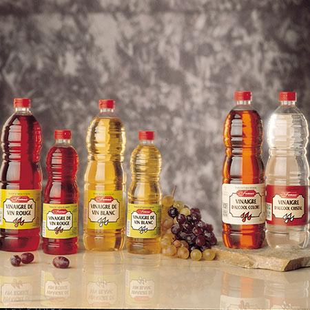 Vinagres en Botella de Plástico