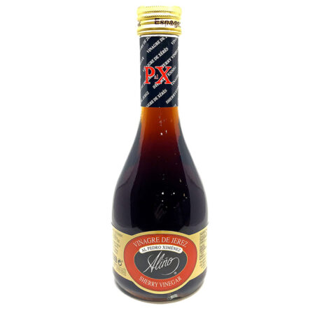 Vinagre de jerez al Pedro Ximénez Aliño